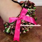 Infant Baby Girl Satin Bloomer Pantie Brief Pant with Bows For Pettiskirt 6m-3Y