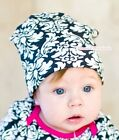 Baby Toddler Cotton Hot Pink Damask Warmhat Hat Cap Beanie for Pettiskirt Outfit