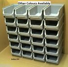 24 Allit Profiplus Size 2 Quality Plastic Storage Stacking Bins bin  5 COLOURS