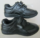 Boys Back To School Shoes - JCDees - N1057 - Black Leather