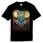 Bullet For My Valentine Skull BLACK T-shirt