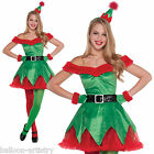 Adult Woman's Christmas Magical Little Elf Helper Fancy Dress Costume