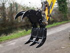 MECHANICAL GRAPPLE TO SUIT MINI DIGGER/EXCAVATORS UP TO 14 TONNE