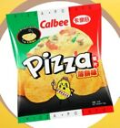 NEW SEALED CALBEE Potato Chips - Pizza Flavoured Potato Chips - 50G X 6 packs