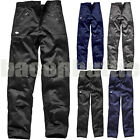 Dickies Mens Cargo Combat Work Wear Trousers Pants Knee Pad Pockets Black Navy