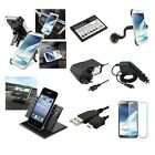 Mains/DC Charger/USB/Holder/Battery ALL YOU NEED For Samsung Galaxy Note 2 N7100