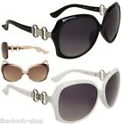 NEW D.E DESIGNER WOMENS LADIES GIRLS BLACK OVERSIZED BIG UV400 SUNGLASSES G-584