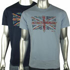 Mens Ben Sherman Union Jack Mod Sixties 60s Indie Skin Retro T-Shirt Tee S-4XL