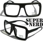Large Retro Nerd Bold Thick Square Frame Classic Eye-Glasses SQUARE spongebob