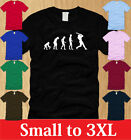 EVOLUTION IN BASEBALL MENS T-SHIRT S M L XL 2XL 3XL funny sports homerun pitcher