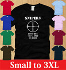 SNIPERS IF YOU RUN YOULL DIE TIRED LADIES T-SHIRT S M L XL 2nd america women tee