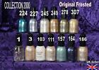 COLLECTION 2000 nail polish varnish ORIGINAL frosted blue white cream purple