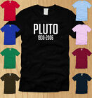 RIP PLUTO - MENS T-SHIRT 2XL  funny planet science geeky nerdy nasa tee XXL