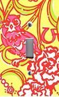 Light Switch Plate & Outlet Covers  CHI OMEGA YELLOW PINK OWLS