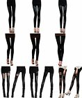 New Sexy Ladies Women Girls Faux Leather Leggings Pants Black Trouser Tights Hot