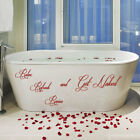 Relax Refresh Revive & Get Naked Bathroom Wall Quote Art Stickers Wall Decals