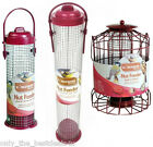 BIRD NUT FEEDER GARDEN HANGING MULTI LISTING STANDARD/LARGE & SQUIRREL GUARD!