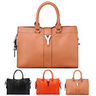 2013 NEW Fshion women Y Charm PU leather handbag Satchel bag tote bag 3 COLORS
