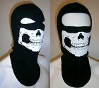 SKULL BALACLAVA MOTORCYCLE HELMET LINER MW2 GHOST SKI FACE MASK SKELETON DEFECTS