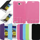 STYLISH  LEATHER FLIP CASE COVER FOR SAMSUNG GALAXY NOTE I9220 N7000 FREE FILM