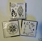 Assorted Christmas Stamps Unmounted Rubber 1.99 Each Free Shipping NIP