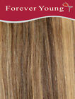 Clip In Human Hair Extensions 100% Real Remy Human Hair Weft Forever Young UK