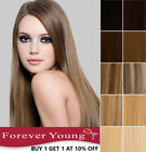 clip in human hair extensions 100 real remy hair any colour long weft head uk