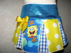 NEW Baby Girls White,yellow,blue Sponge Bob,Spots,Check,Hippy,Retro,gift  Skirt