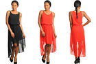 NEW HOT 2013 Women's Sexy Black Red Casual Chic  Blouson Dress S M L
