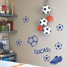 Personalized Foot Ball Name Children Art Wall Stickers Quote/ Wall Decals