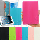 LUXURY LEATHER CASE COVER WITH ROUND MAGNETS FOR APPLE IPAD MINI FREE FILM