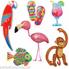 Tropical Luau Caribbean Themed Party Balloons & Inflatables One Listing PS