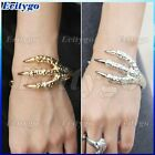 Fashion Vintage Gothic Rock Punk Eagle Bird Claw Clamp Cuff Bracelet Bangle