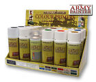The Army Painter Spray Paint Colour Primer & Varnish Brand New All Colours