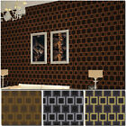 Super Quality!Modern City Style Lattice Pattern Glittering Gold/Silver Wallpaper