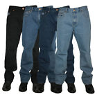 NEW MENS FORGE BY KAM JEANS F101 COMFORT FIT JEANS ALL WAIST & LEG BIG KING SIZE