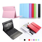 For iPad 2 2nd 3 3rd 4 gen Stand Leather Case Cover with Bluetooth Keyboard
