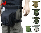 Airsoft Tactical Military Hunting Drop Leg Panel Utility Pouch Waist Bag Pack
