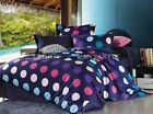 CASERO Queen/King Size Bed Quilt/Doona/Duvet Cover Pillowcases Set New