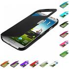For Samsung Galaxy S4 S IV i9500 Color Wallet Magnetic Hard Pouch Case Cover