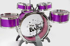 5PC BLUE PINK Drum Set Starter Band Great Gift KIDS Learn How To Play Rock Drums
