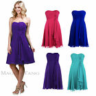 Maggie Tang Strapless Prom Gowns Evening Cocktail Party Bridesmaids Dress 304