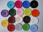 """Bulk 18color 4-Holes Resin clothes Buttons Scrapbooking 25mm Knopf Bouton 0.98"""""""