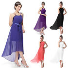 US Women's Long Wedding Bridesmaid Party Formal Evening Cocktail Dress  09830