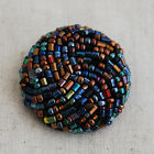 Hand Beaded Buttons - 2.2cm / 3cm - Vintage Style