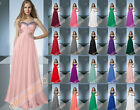Sexy Prom Dress Bridesmaid Gowns Formal Party Evening Dress Cocktail Size 6-26