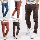 New Korean Style Men's Casual Slim Fit Pants Trousers Elastic Harem Style Pants
