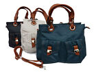 Leather Ladies Handbags Faux Pu Leather Medium Shoulder Hand Bags Quenchy 4973M