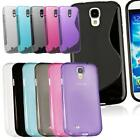TPU Silicone Gel Skin Case Cover For Samsung Galaxy S4 Mini i9190 + Screen Guard