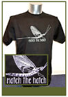Match The Hatch T-Shirt & Druck Gr. S - 5XL realistische Maifliege